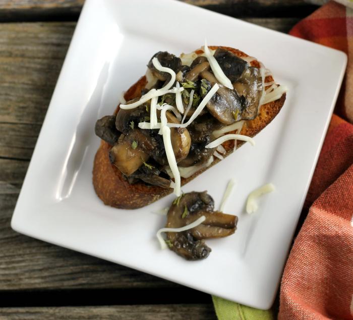Mushrooms On Toast