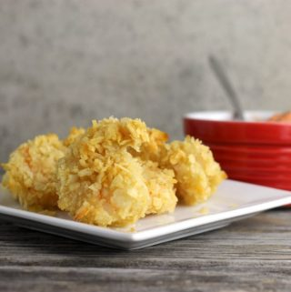 Baked Potato Chip Shrimp