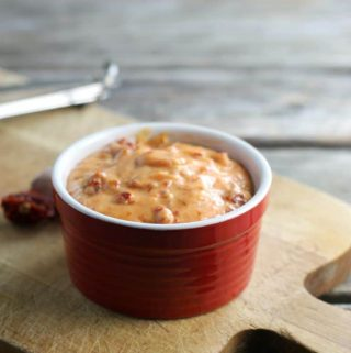 Sun-dried tomato aioli is so simple to make, you can spread it on sandwiches or use it as a dip.