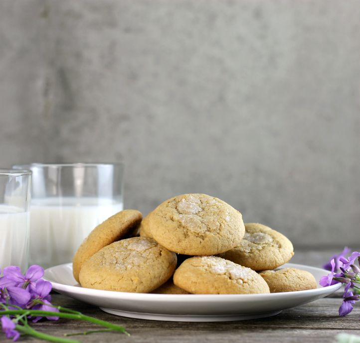 Soft honey cookies are a simple cookie with a touch of honey that is super soft and a bit chewy.