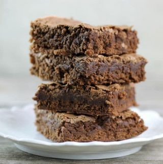 Chocolate cake brownies a soft and chewy brownie that the whole family will love; you will find yourself making them over and over again.