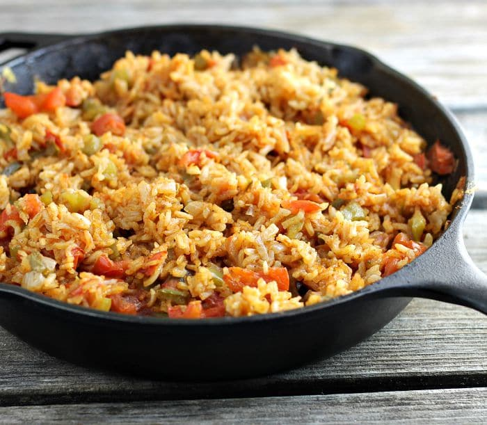 Baked Spanish Rice Recipe