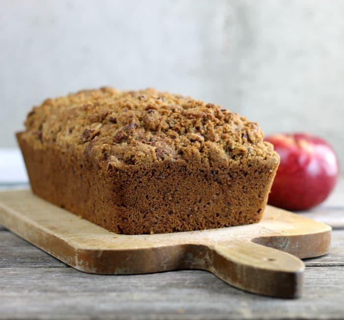 Apple Cinnamon Quick Bread