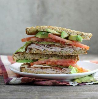 Turkey Avocado BLT Sandwich