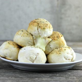 Mozzarella Cheese Bombs
