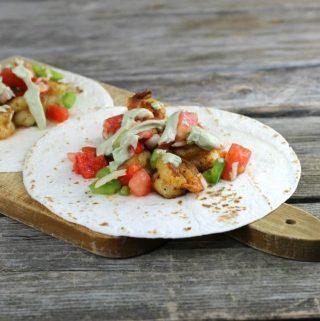Easy Shrimp Taco Recipe