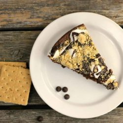Skillet S'mores Brownies