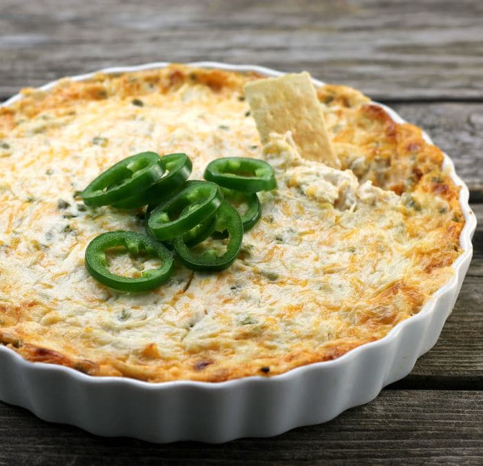 Chicken Jalapeno Popper Dip