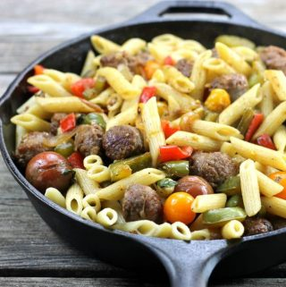 Italian Sausage and Pepper Pasta