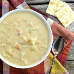 Slow Cooker Potato Leek Soup