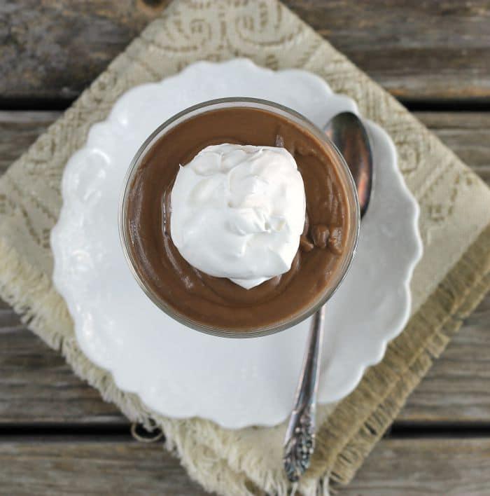 Homemade Chocolate Pudding