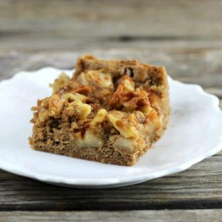 Caramel Apple Spice Bars