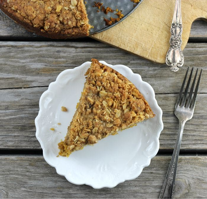 Pumpkin Crumb Coffee Cake