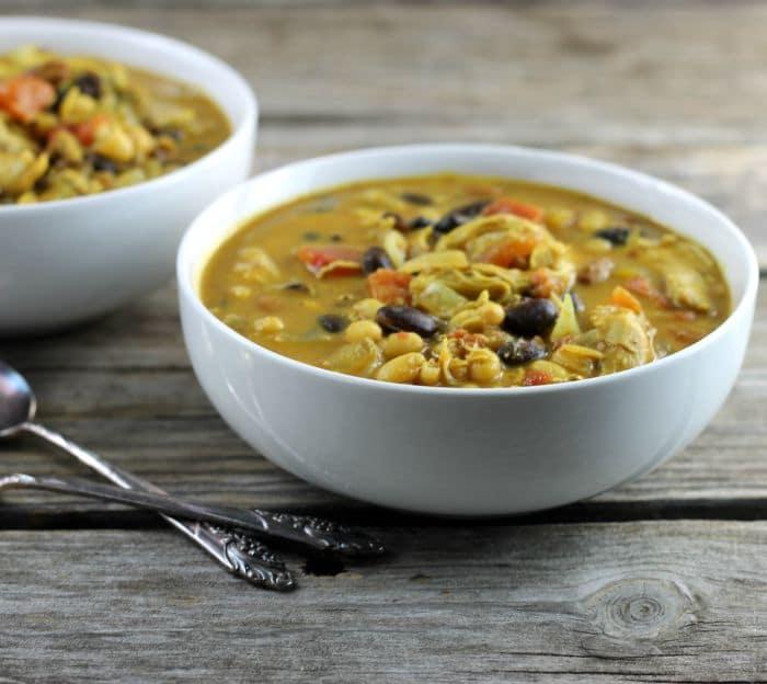 Chicken Curry Chili
