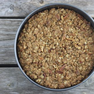 Apple Oatmeal Coffee Cake